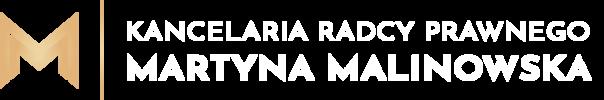 Martyna Malinowska - Kancelaria Radcy Prawnego Warszawa Loga jasne